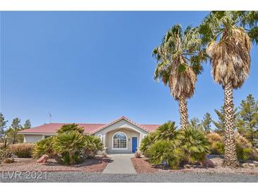 Photo one of 1460 Red Rock Dr Pahrump NV 89048   MLS 2331841