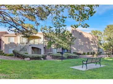 Photo one of 7631 Tackle Dr # 201 Las Vegas NV 89128 | MLS 2336554