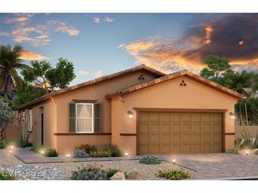 Photo one of 4285 Rancho Crossing St # Lot 37 Las Vegas NV 89130   MLS 2340473
