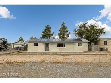 Photo one of 3820 Point Dr Pahrump NV 89060 | MLS 2341098