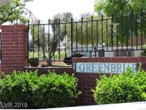 View 103 Greenbriar Townhouse Way Las Vegas NV